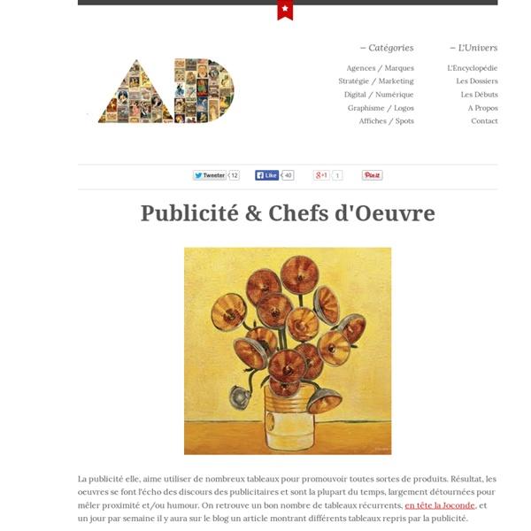 Publicité & Chefs d'Oeuvre