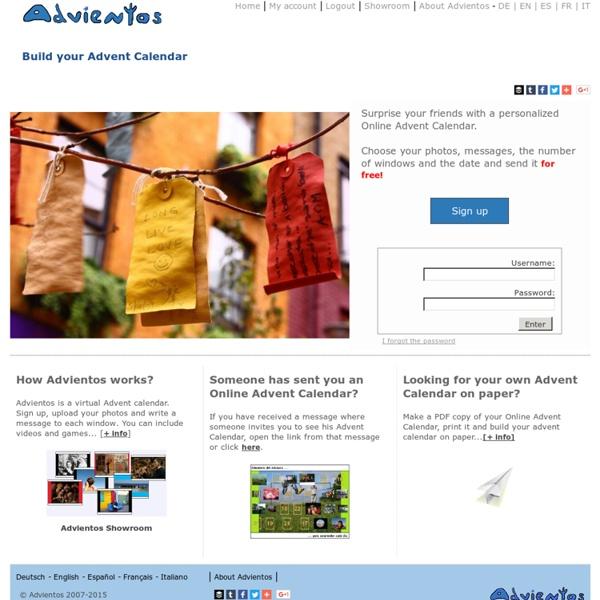 Advientos - Online Advent Calendar