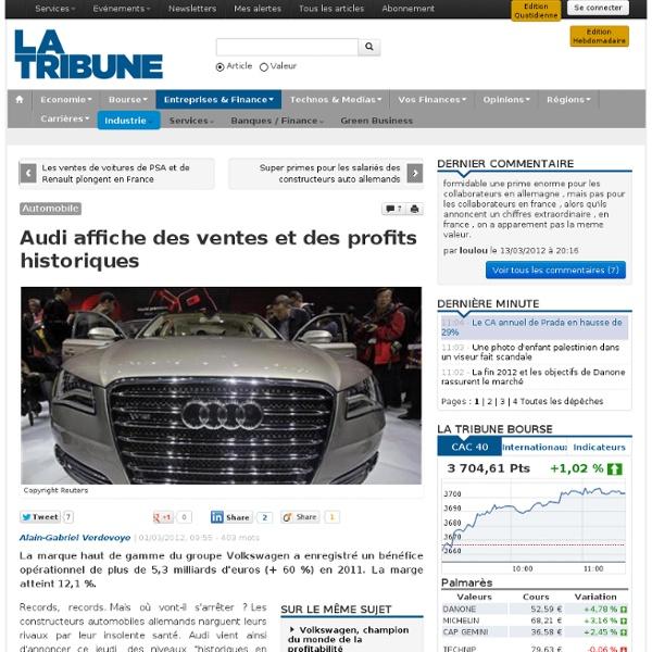 Audi en super forme