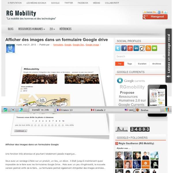 Afficher des images dans un formulaire Google drive ~ RG Mobility