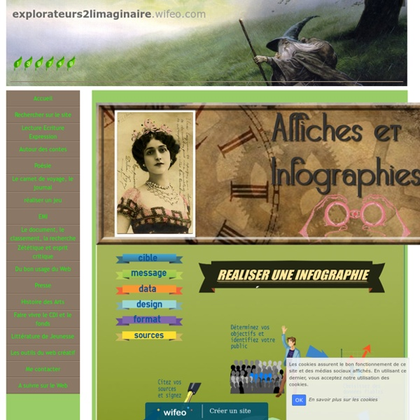 Affiches et infographies