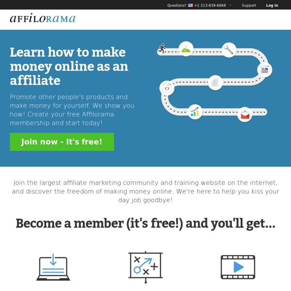 Affiliate Marketing Training, Software & Support