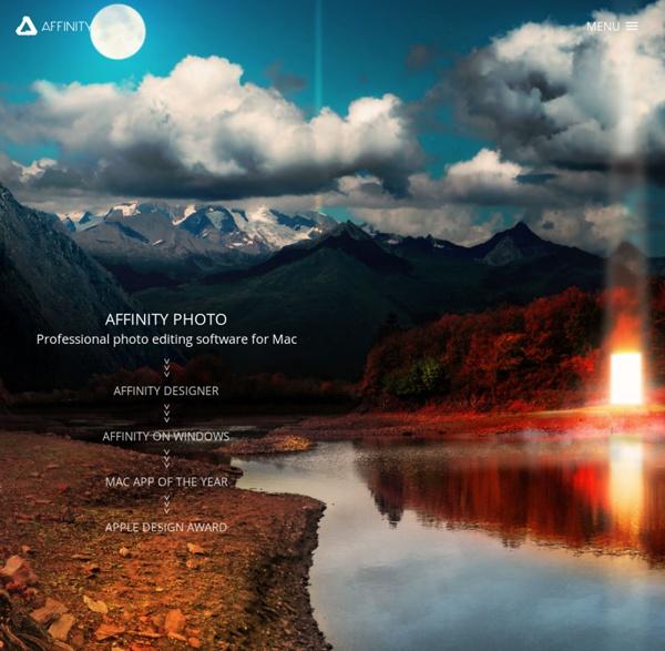 Affinity - Des logiciels créatifs professionnels pour Mac