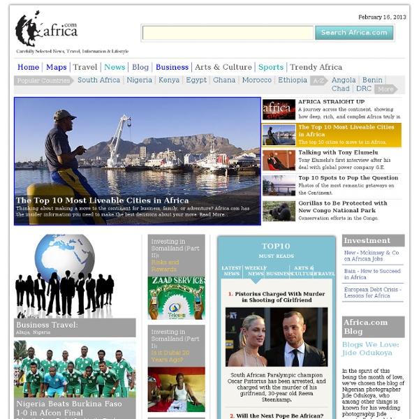 Africa.com - Africa Information