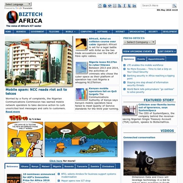 BiztechAfrica Business, Telecom, Technology & IT News Africa