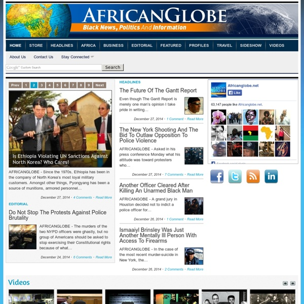 Black News, Politics and Information