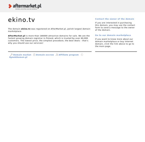 Filmy Online - EKINO.tv
