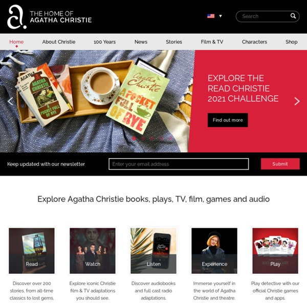 Agatha Christie - The official information and community site