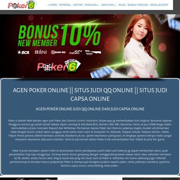 Agen Poker Terpercaya Pearltrees