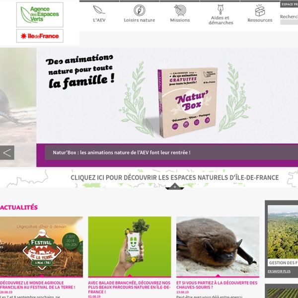 Agence des espaces verts d'Ile de France