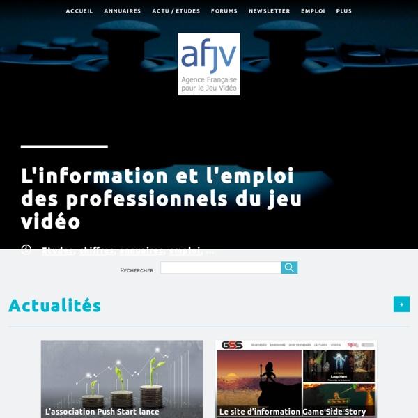 [afjv] - Agence Française pour le Jeu Vidéo