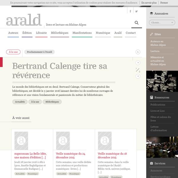 Agence Rhône-Alpes pour le livre et la documentation