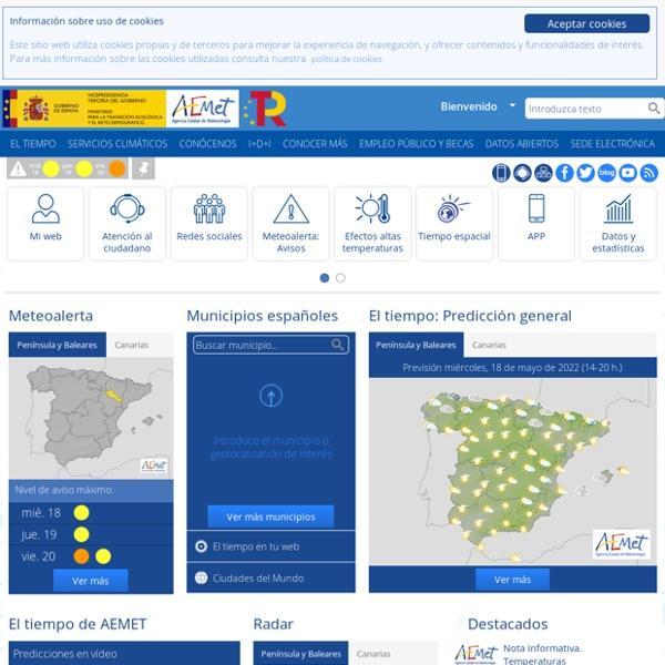 Agencia Estatal de Meteorología - AEMET. Gobierno de España