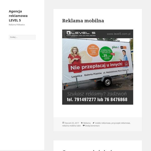 Agencja reklamowa LEVEL 5