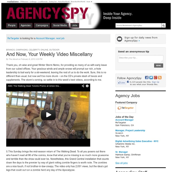 AgencySpy - Inside Your Agency. Deep Inside