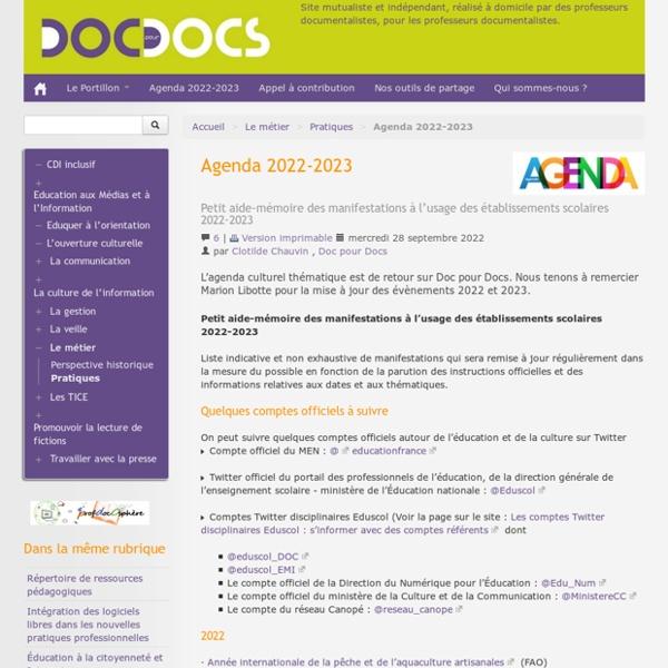 Agenda 2016-2017