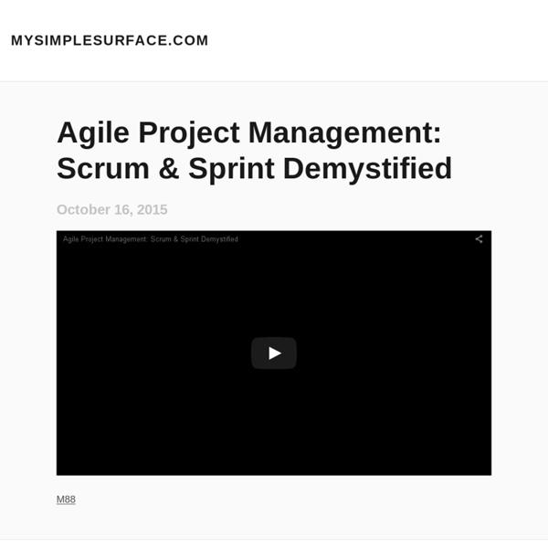 MySimpleSurface.com - agile management utility