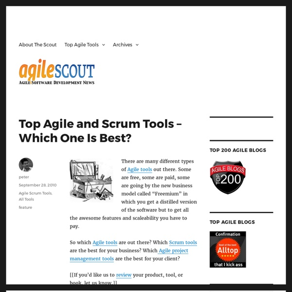 Top Agile and Scrum Tools - Which One Is Best?