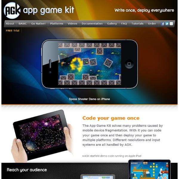 AGK App Game Kit