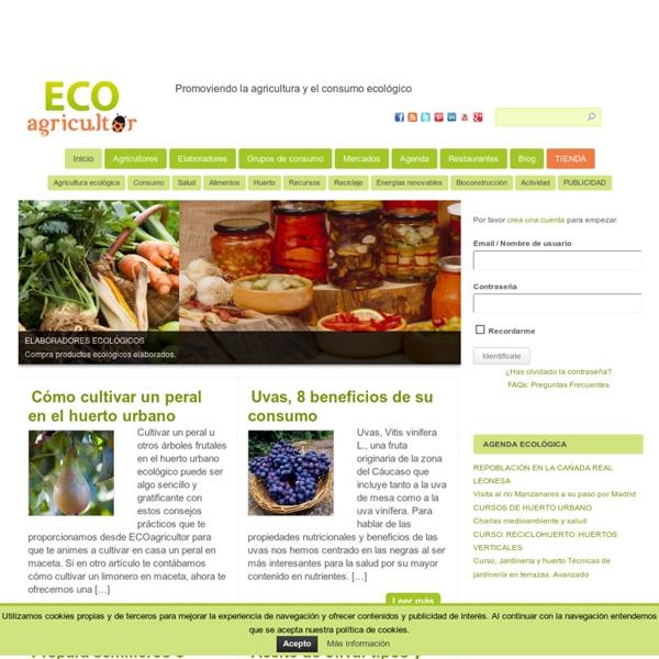 ECO agricultor - Agricultura Ecológica