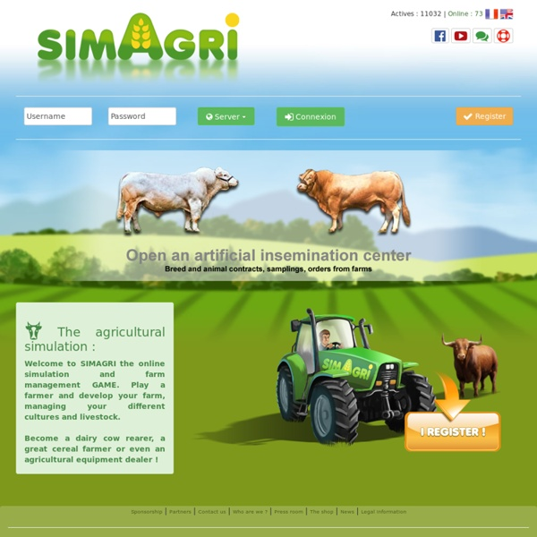 SimAgri - The online agricultural simulation game