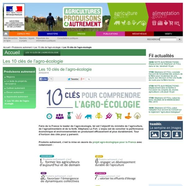 Les 10 clés de l'agro-écologie