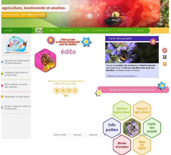 Bonne pratique du jardinier : Jachères apicoles, biodiversité jardin et jardinage écologique