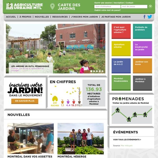 Agriculture urbaine Montréal