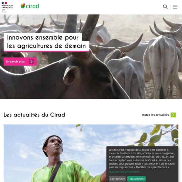 Cirad - La recherche agronomique pour le développement