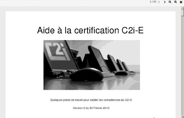 Guide C2i2e -IUFM Montpellier