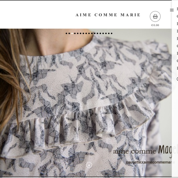 Aime comme Marie — Home