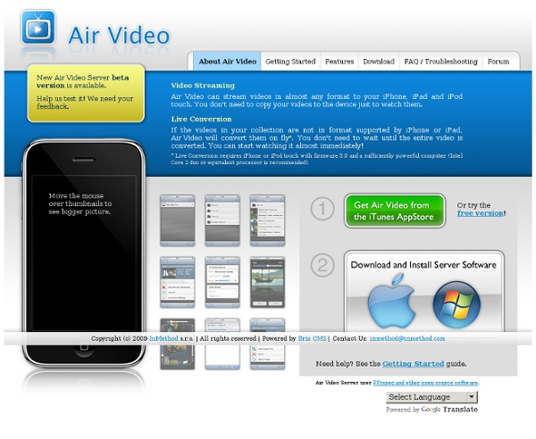 About Air Video