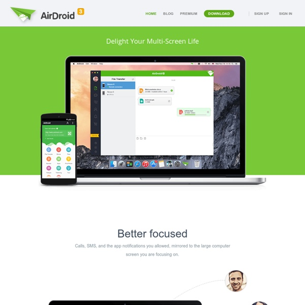 AirDroid-Enjoy your Android Experience over the air