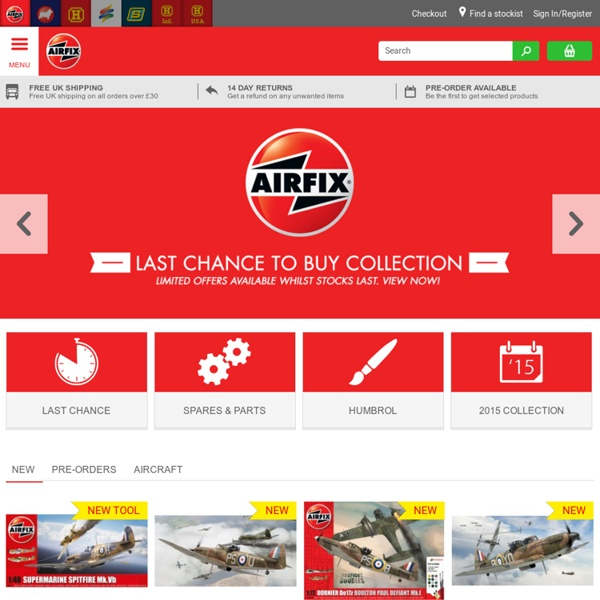 Plastic Scale Models The Official Airfix Website