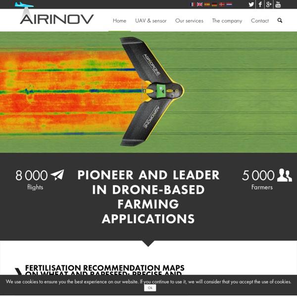 Airinov - Pionnier et leader du drone agricole