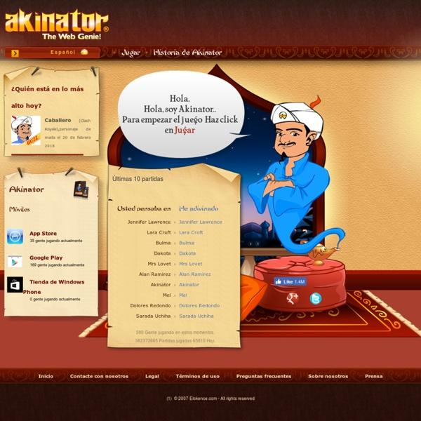 Akinator, El Genio de la Web