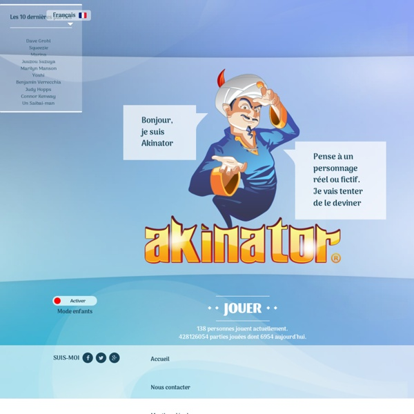 Akinator, le génie du Web