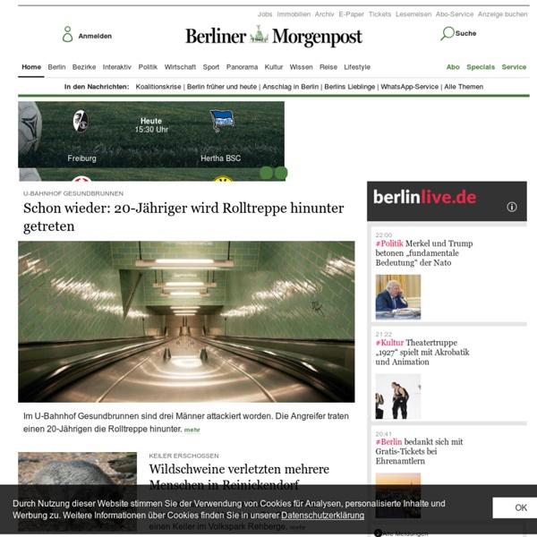 Aktuelle Nachrichten Berlin