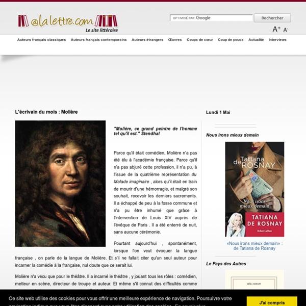 Le site littéraire