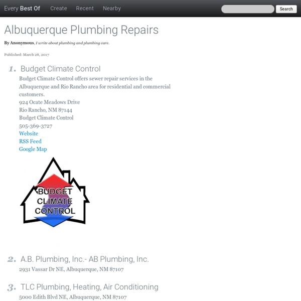 Albuquerque Plumbing Repairs