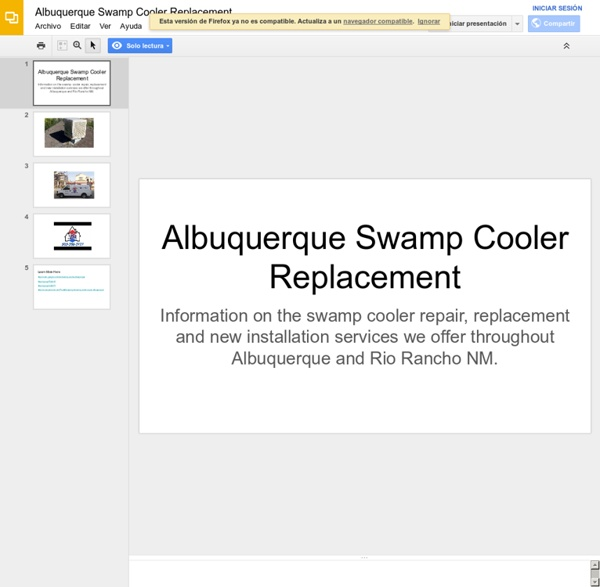 Albuquerque Swamp Cooler Replacement