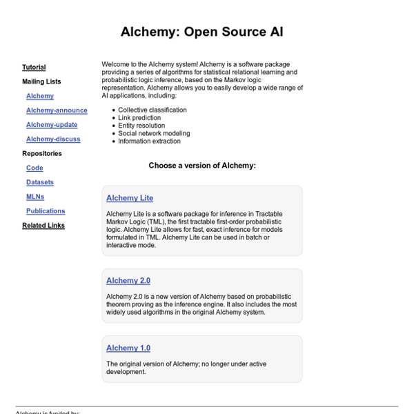Alchemy - Open Source AI