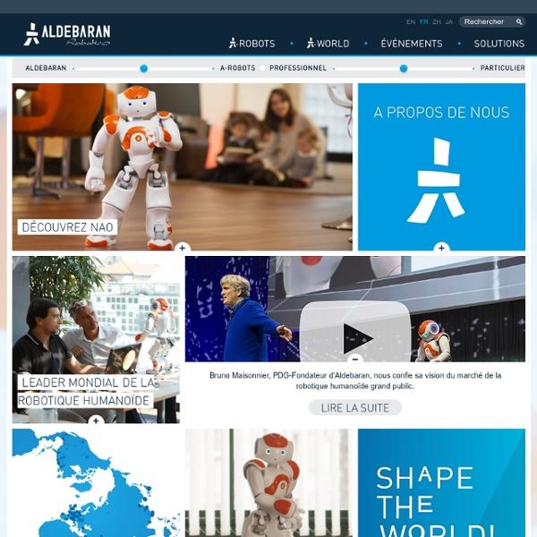 Robotique humanoïde et robot programmable