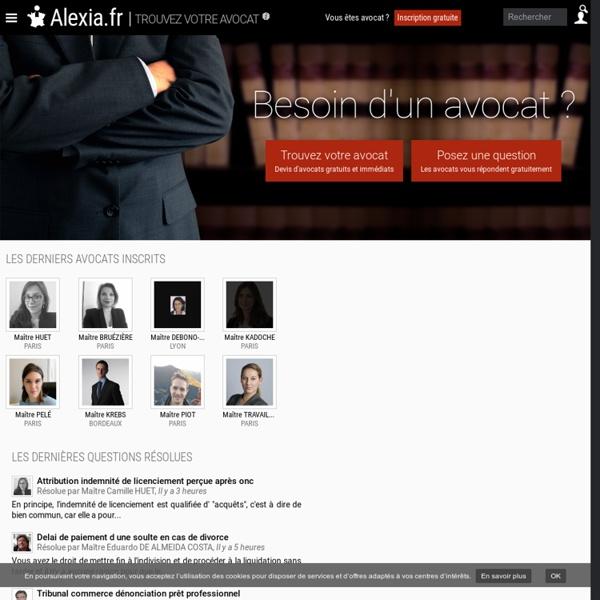 Avocat.net : Premier comparateur de prix d'avocats !