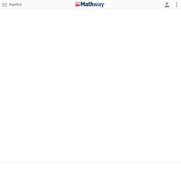 MathWay Solucionador Problemas