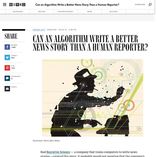 Can an Algorithm Write a Better News Story Than a Human Reporter?