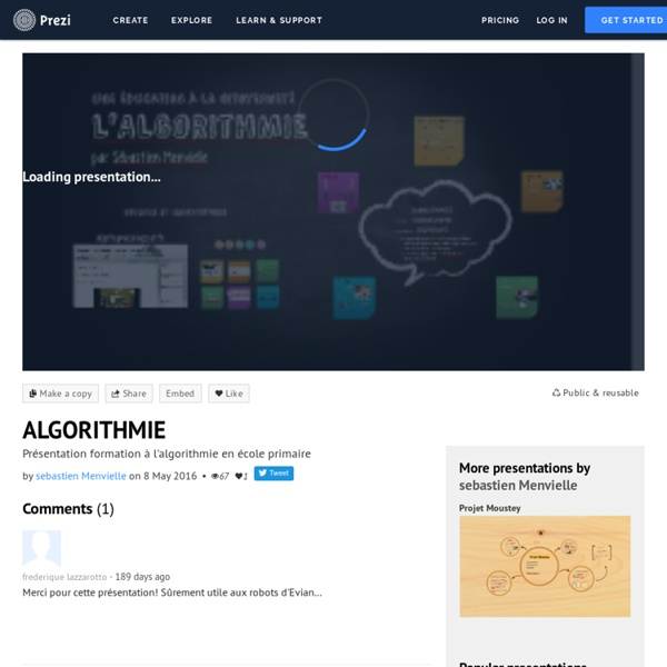 ALGORITHMIE by sebastien Menvielle on Prezi