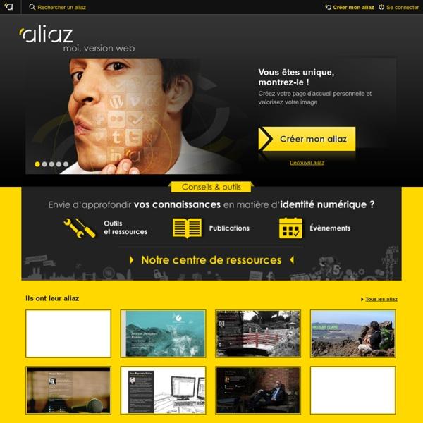 Aliaz - moi, version Web(carte identité en ligne)