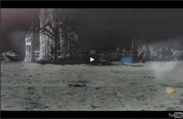 THE MOON, an alien UFO base, a satellite that doesn't belong to us...