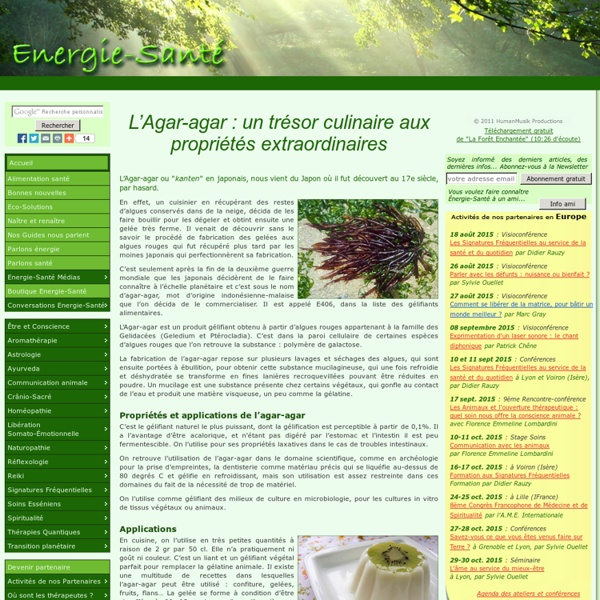 L'Agar-agar : un trésor culinaire aux propriétés extraordinaires